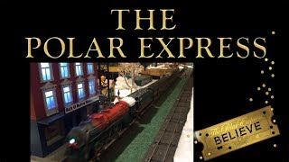 Polar Express Lionel Model Train Christmas Layout