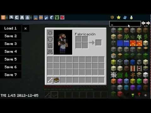 Minecraft 1.4.7 Mod-Recipe Book Mod Como Instalar 720p
