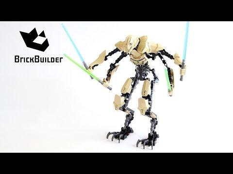 Lego Star Wars 75112 General Grievous - Lego Speed Build