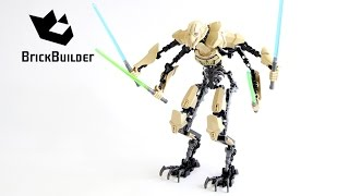 Lego Star Wars 75112 General Grievous - Lego Speed Build