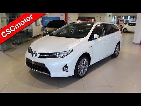 Toyota Auris Touring Sport Híbrido - 2013 | Revisión en profundidad y encendido