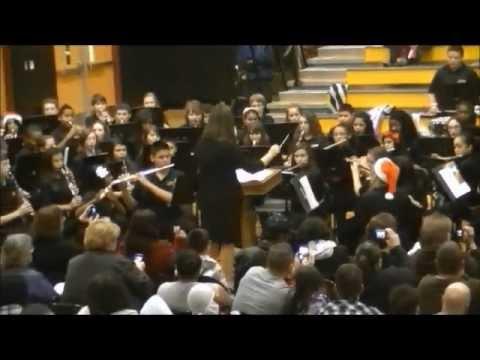 Lincolnton Middle School - Christmas Concert 2012 - 7Grade