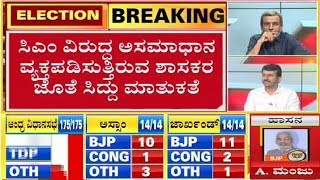 MLA Sudhakar Meets Siddaramaiah; Will The Coalition Government Collapse? | Election Results 2019