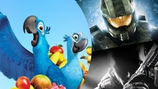 AMV - Rio and Halo 4 and COD Black Ops 2 - Let Me Take You To Rio