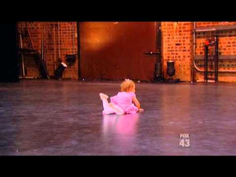 2 Year Old Girl Dancing Ballet on SYTYCD 2012