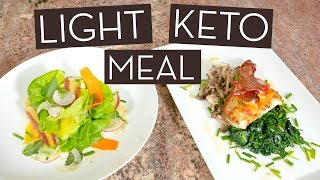 A Personal Chef's Tasty & Light Keto Meal Recipe for Summer