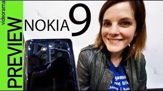 Nokia 9 Pureview primeras impresiones -con 5 cámaras!!!-