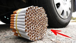 EXPERIMENT: CAR VS CIGARETTES