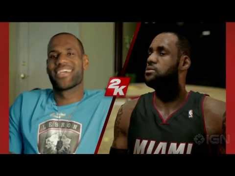 NBA 2K14 LeBron James Tech Demo - E3 2013 Sony Conference
