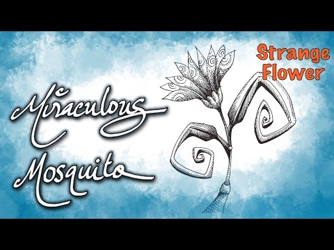 Strange Flower - Speed Drawing - by Miraculous Mosquito