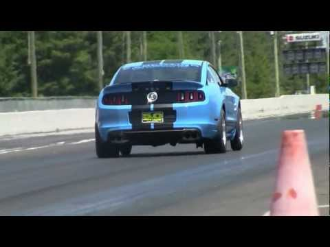 First 2013 Shelby GT500 In The 9-s - 9.95@142MPH