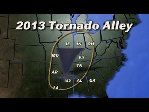 Tornado Alley Shifts Eastward for 2013 Storm Season (MU CAFNR)