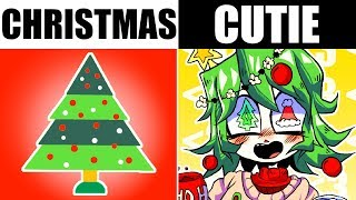 IF HOLIDAYS WERE CUTE GIRLS
