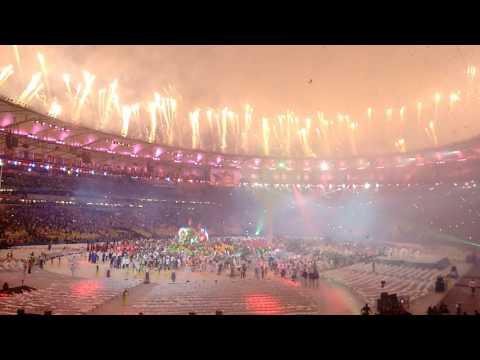 Encerramento da Olimpíadas Rio 2016