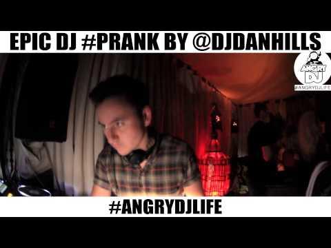 Epic DJ Prank #angrydjlife