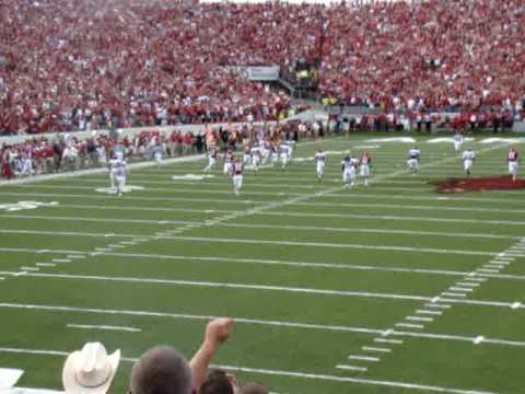 TOUCHDOWN RAZORBACKS! Video