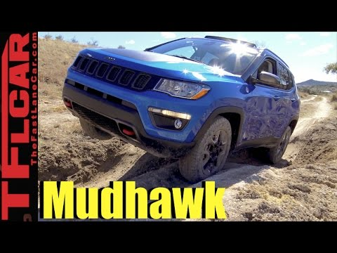 2017 Jeep Compass On and Off-Road Review: How Mud-Worthy is the Trailhawk?