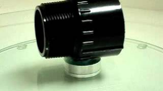 Schedule 40 Black PVC Male Adapter, Mipt x Slip