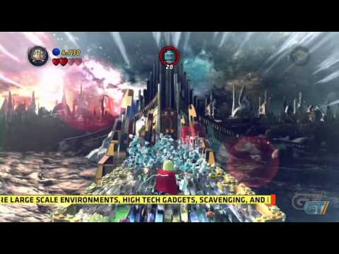 LEGO Marvel Super Heroes - E3 2013: Walkthrough