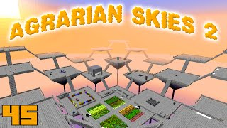 Minecraft Mods Agrarian Skies 2 - EXPANSION [E45] (Modded Skyblock)