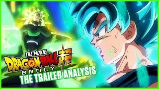 DRAGON BALL SUPER: BROLY MOVIE TRAILER ANALYSIS | MasakoX