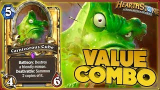 Hearthstone - VALUE COMBO - Kobolds and Catacombs WTF Moments