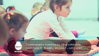 Daft Punk ft Pharell Williams – Get lucky - workshop by Alina Lukianova - Open Art Studio