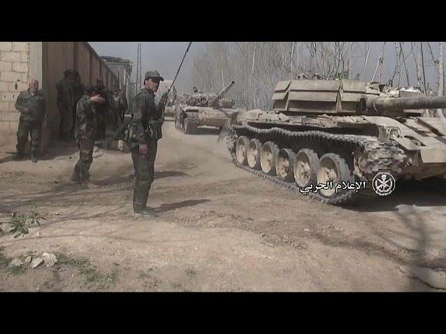 Civilians flee eastern Ghouta as rebels prepare last stand against Assad