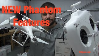 First Look NEW DJI Phantom Remote - Scroll Wheel-Lipo-Compass-Motors-Props