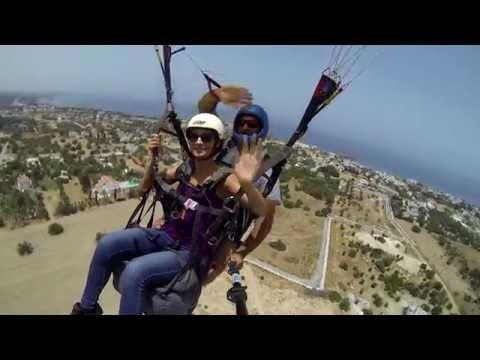 North Cyprus Kyrenia Paragliding, June 2016