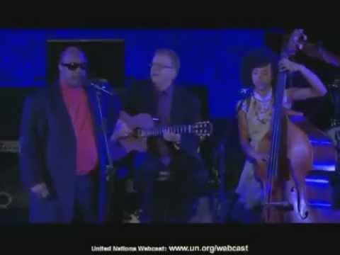 Stevie Wonder_Romero Lubambo_Esperanza Spalding (unplugged)