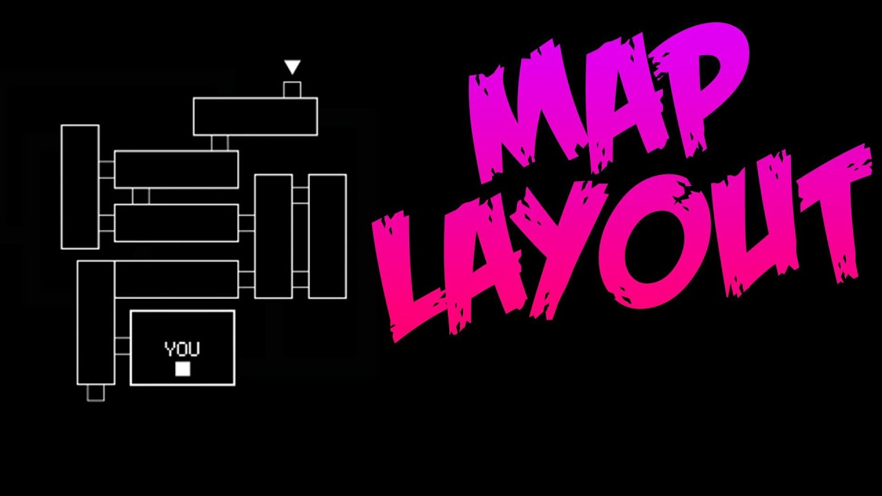 Five nights at freddy s 3 map layout new fnaf 3 teaser image