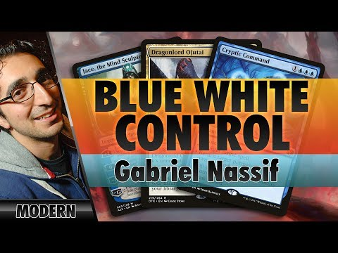 Blue-White Control - Modern   Channel Nassif