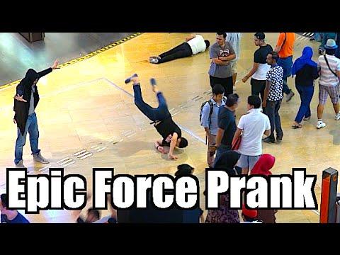 Epic Force Prank - Maxmantv