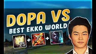 DOPA gets STYLED ON by worlds best EKKO - XIAO LAO BAN | Midbeast review