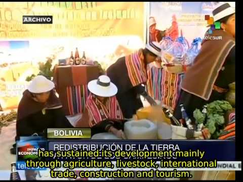 Bolivia seeks to turn Santa Cruz into continental food center