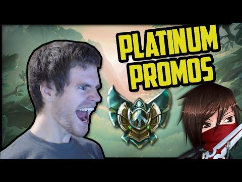 PLATINUM PROMOS (Final Episode?)- Ranked Journey 25 (League of Legends)