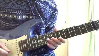 SEKAI NO OWARI ギターフレーズその②『青い太陽』弾いてみた