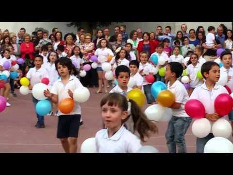 Baile fin de curso alumnos de primer ciclo de Primaria