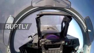 Syria: Russian bombers conduct airstrikes in northern Syria
