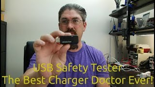 USB Safety Tester - Best Charger Doctor Ever!