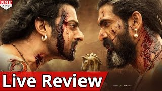 Bahubali The conclusion Live Movie Review
