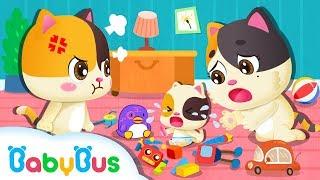 調皮的弟弟弄壞了我的玩具!我討厭我弟弟 | 兒歌 | 童謠 | 動畫 | 卡通 | 寶寶巴士 | 奇奇 | 妙妙