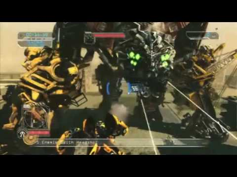 Transformers 2 : Revenge of the Fallen Sideways & Devastator Gameplay HD