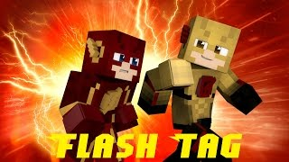 "Minecraft Flash Tag #1: ""I Am The Fastest Man Alive!"" (Minigame)"