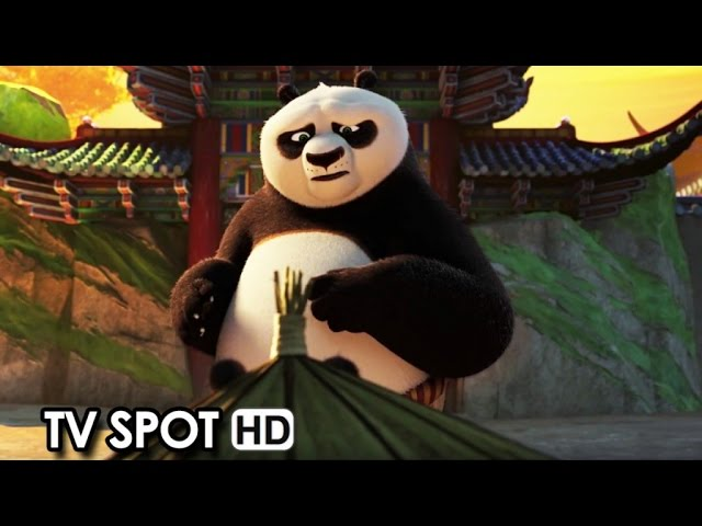 Kung Fu Panda 3 ft. Jack Black TV Spot 'A Father Rises' (2016) [HD]