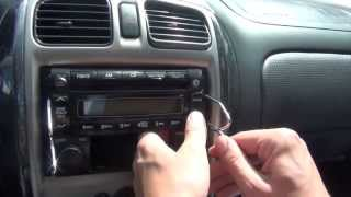 GTA Car Kits - Mazda Protege 2000, 2001, 2002, 2003 iPod, iPhone and AUX adapter installation