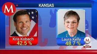 Kris Kobach pierde para gobernador de Kansas City