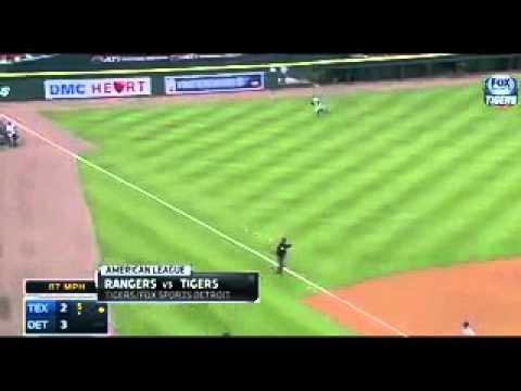 Detroit Tigers vs Texas Rangers : MLB Baseball (23 May 2014)