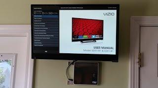 2014 VIZIO E241i B1 24 Inch 1080p 60Hz Smart LED HDTV REVIEW